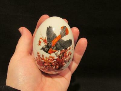 Avon Autumn Brings Magic Changes Collectible Egg Paperweight