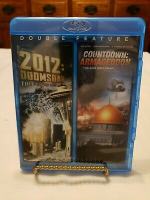 2012: Doomsday - Countdown: Armageddon (Blu-ray, Double Feature) - Great Conditi