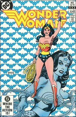 Wonder Woman (1st Series DC) #304 1983 VG+ 4.5 Stock Image Low Grade