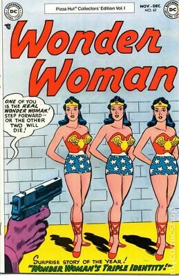Wonder Woman Pizza Hut Collectors Edition #62 1977 VG/FN 5.0 Stock Image
