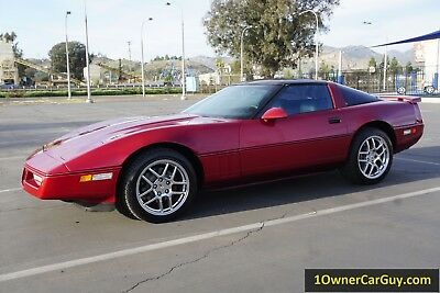 1989 Chevrolet Corvette C4 89 Chevrolet Corvette C4 5.7L V8 350 TPI Coupe T Top Investment Car Z06 Wheels