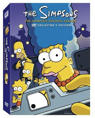 The Simpsons COMPLETE 7TH Season 7 (DVD 1995 4 Disc Set SEVENTH COLECTOR EDITION