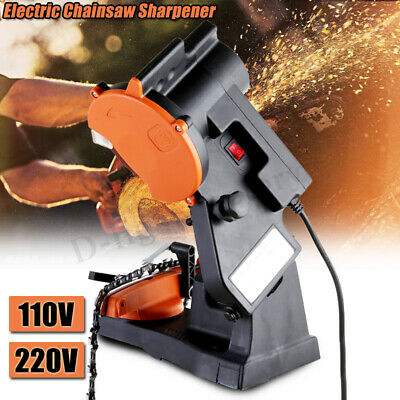 Electric Bench Chainsaw Blade Saw Chain Sharpener Grinder Motor Abrasive Tool