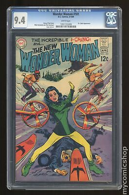 Wonder Woman (1st Series DC) #181 1969 CGC 9.4 1051132009