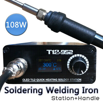 T12-952 STC OLED 108W Soldering Station Electronic Welding Iron Digital  AU