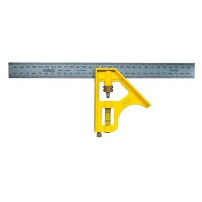 300mm Stanley 46-143 Measure Combination Right Angle Square Ruler Meter Work