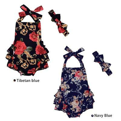 Open Beauty The New Infant Clothing navy flower climbing clothes Baby MT