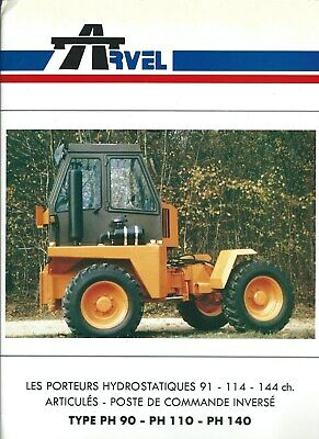 Equipment Brochure - Arvel - PH 90 et al Hydrostatic Tractor FRENCH lang (E5000)