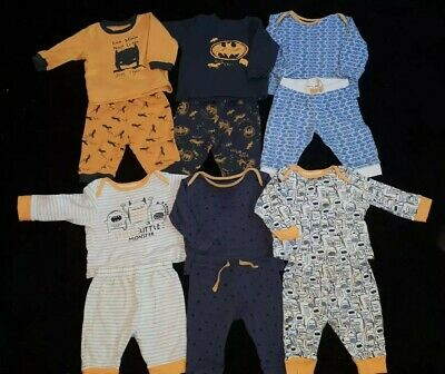 Baby Boys Pyjamas Age 0-3 Months Bundle