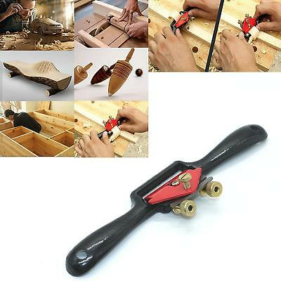 2 Handed Woodwork Wood Spoke Shave Flat Plane Work Planer Tool Accessories JD