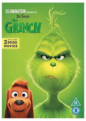 The Grinch  [DVD] [2018] [New DVD]