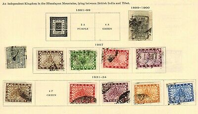 Lot of Nepal Old Stamps Used