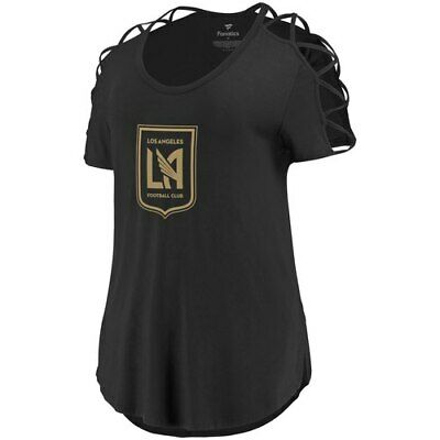Fanatics Branded LAFC Women s Black Iconic Best Comeback Tri-Blend T-Shirt 3d87ac0c0