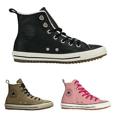 Converse CTAS Hiker Boot Hi Leather Mens Womens Laces Ankle Unisex Trainers