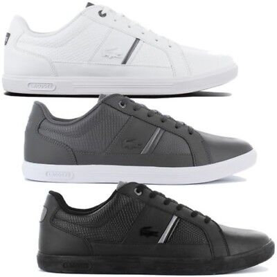 f5d89e3f8ee71 Lacoste Europa 417 1 Spm Leather Men s Sneakers Shoes Leather Sneakers  Leisure
