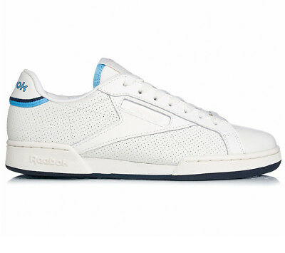 ea19aa4bed9 Reebok Classic Npc UK II thof Leather Men s Sneakers Shoes White Leather  BD2884