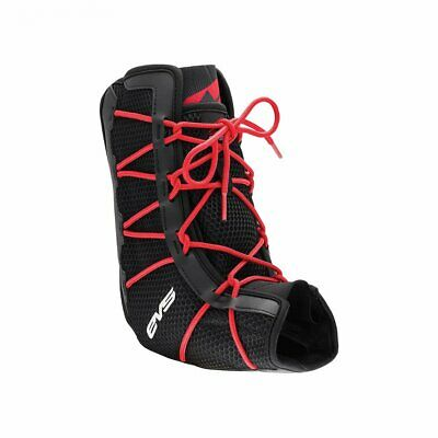 Evs Protection Adult Ab06 Ankle Brace Mens Body Armour - Black Red All Sizes