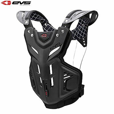 Evs Protection F2 Chest Protector Youth Unisex Body Armour - Black One Size