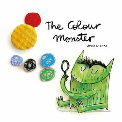 The Colour Monster by Anna Llenas 9781787412736 (Board book, 2018)