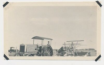 1920 Vintage Photo Farm Machinery History Rock Island Plow Company Heider Front