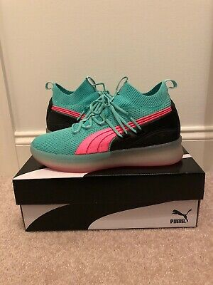 "new style ab60f c0d8d PUMA CLYDE COURT Disrupt ""Ocean Drive"" Basketball Shoes (8.5)"