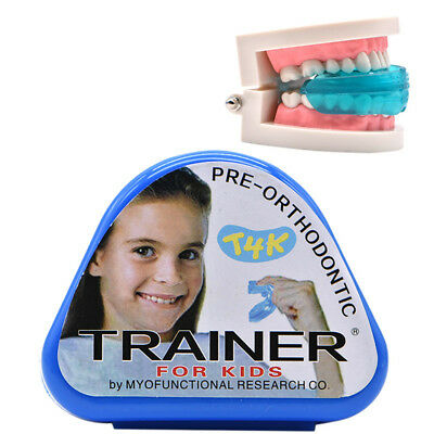 1pc T4K Children -Orthodontic Appliance- Dental Tooth  Trainer Kids