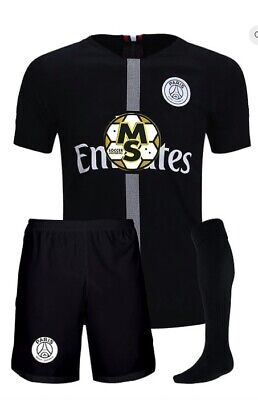 the latest 3606c 99c13 1 SOCCER UNIFORM jersey and shorT gray uniform barca psg black