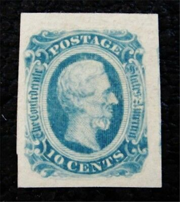 nystamps US CSA Confederate Stamp # 12a Mint OG H $50