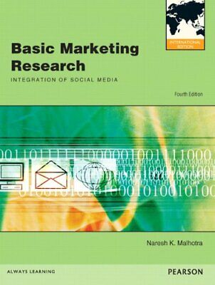 Basic Marketing Research (International Edition)-Naresh K. Malhotra