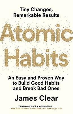 Atomic Habits Tiny Changes, Remarkable Results By James Clear (Ebook,PDF)