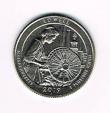 2019 S Lowell National Historical Park (Ma) Atb Quarter - Uncirculated