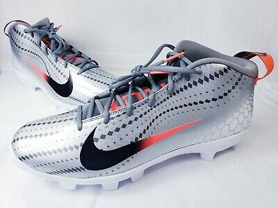 save off cab4e f51d7 Nike Force Zoom Trout 5 856 Mid Baseball Cleat Men s Size 14 AH3376-060