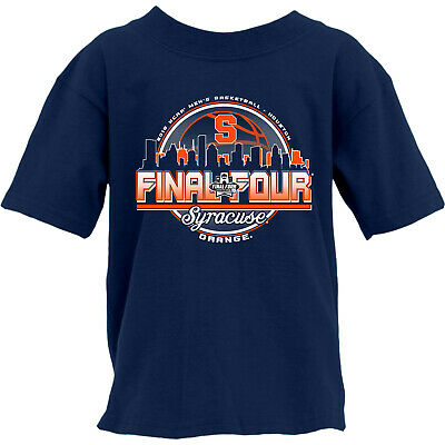 Syracuse Orange 2016 Final Four Basketball Houston Skyline YOUTH T-Shirt (S)