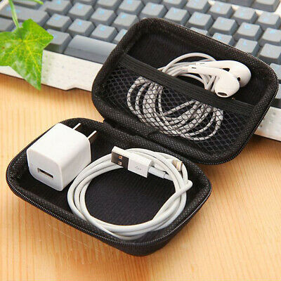 Mini Headset Data Cable Charger Storage Bag Case Travel Anti-pressure Gadgets