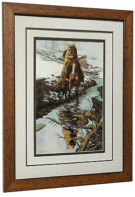 """Bev Doolittle  """"Spirit of the Grizzly""""  Matted and Framed Art Print"""