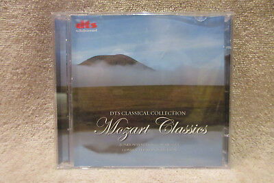 DTS Classical Collection Mozart Classics DTS Surround DVD & Stereo CD -PERFECT!