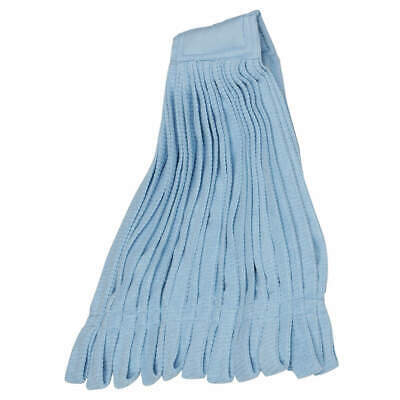 ABILITY ONE Mop Head,Microfiber,Tube Style,Blue, 7920-01-660-1489