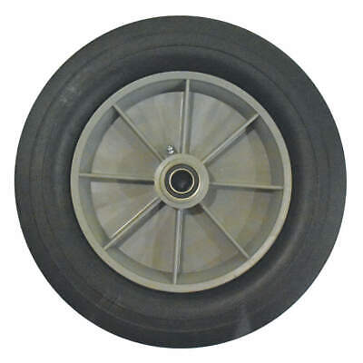 "GRAINGER APPROVED Wheel,12"" with Lock Nut, GRFG1011M10000"