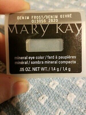 Mary Kay Mineral Eye Color - New in Case -  Color  Denim Frost - Eye Shadow