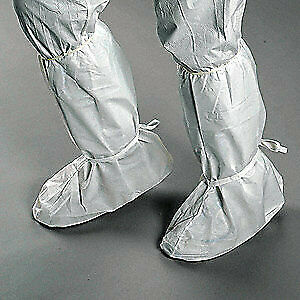 CRITICAL COVER Cleanroom Boot Covers,PP/PE,Size M,PK200, BT-T4W15-B, White