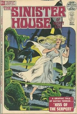 Sinister House of Secret Love #4 1972 GD/VG 3.0 Stock Image Low Grade