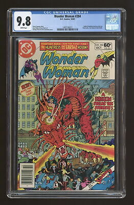 Wonder Woman (1st Series DC) #284 1981 CGC 9.8 1497130011
