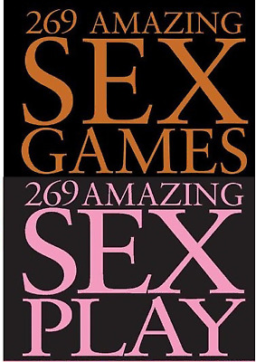 269 Amazing Sex GAMES + 269 Amazing Sex PLAY- 2 Ebook - 6/12h delivery