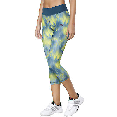 Adidas Performance Femmes Course Gym 3 4 Capri Court Leggings Collant -  Multi a312bf8021c