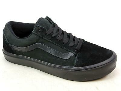 00f474b12f Unisex Vans Old Skool Lite Ultracush Black Canvas Suede Skater Trainers Size  5