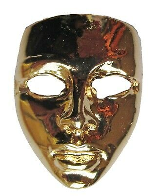 Badge broche masque Carnaval métal coulé pins plaque vis métallique Cast Metal