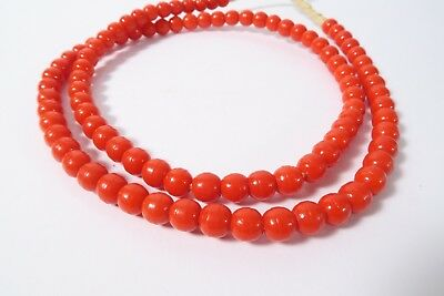Old Bapterosse Prosser IH7 8mm rot African Trade beads