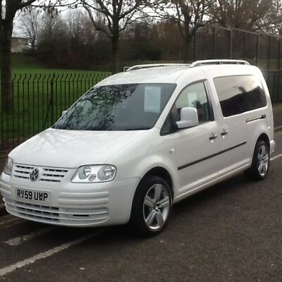 Volkswagen Caddy Maxi Van 1.9 tdi With Twin Side Loading Doors