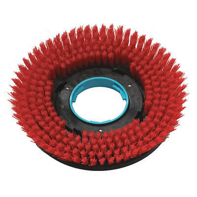 "I-MOP Floor Machine Brush,Red,12"" Pad,Round,PR, 1237715"