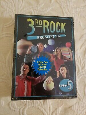 3rd Rock from the Sun - Season 5 (DVD, 2006) BRAND NEW FACTORY SEALED!!! L@@K!!!